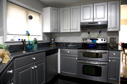 Phelps Kitchen Cabinet Refinishing